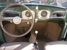 1952 Volkswagen Beetle For Sale Interior