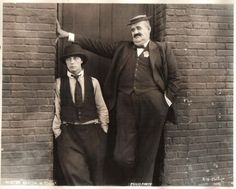 The Goat 1921 - Big Joe is a policeman trying to catch Buster who has been mistaken for an escaped criminal