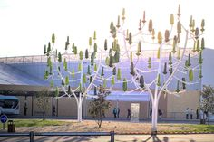 Plastic Wind Trees Are Bringing Sustainable Power To Residential Homes - http://www.psfk.com/2016/08/plastic-wind-trees-are-bringing-sustainable-power-to-residential-homes.html