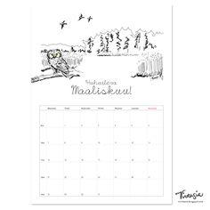 Ilmainen tulostettava maaliskuun 2016 seinäkalenteri #ilmainen #tulostettava #kalenteri #2016 #maaliskuu #free #print #calendar #March