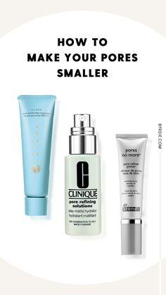How to shrink your pores