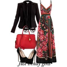 Summer maxi dresses with jackets | Just Trendy Girls