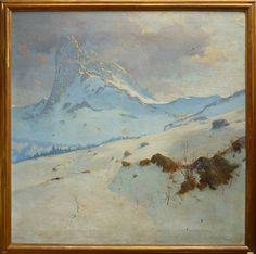Ciro Garzolini (Trieste 1883-1972), Dolomites Landscape