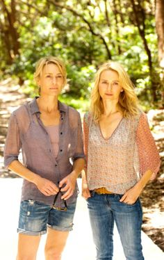 I love Robin wrights hair in this movie  Thinking of going short again????            Naomi Watts with Robin Wright | 'Adore'