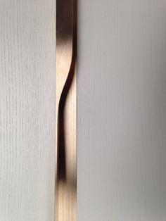 penthouse te koop Roeselare Level Seven Botermarkt Maddens Concept interieur design messing handgrepen