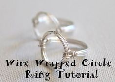 video tute for wire ring (scroll down for variation using beads)