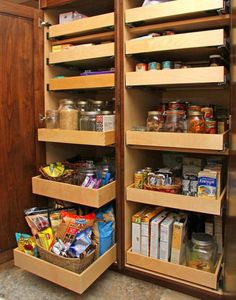 The biggest problem with standard kitchen cabinets in the home is the inefficient use of space.