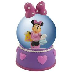 40% Off was $51.99, now is $30.99! Disney Motif Globe with Minnie Mouse All Dolled Up on Shopping Spree + Free Shipping