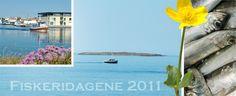 Postkort delt ut fra vår stand under Fiskeridagene 2011.