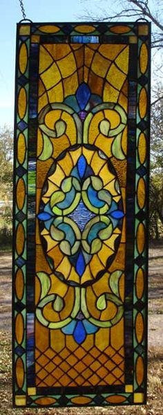 Quilted Victorian Stained Glass