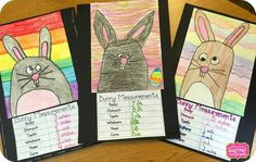Step into 2nd Grade with Mrs. Lemons: Engaging Measurement Activities. Bunny Directed Drawing w Measurement Activity