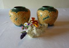 Yves Rocher Vases Vintage Pair of French Pottery by LaCassoulere, €20.00 SOLD