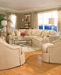 Huntington House 7100 Sectional Sofa - 7100-53+2x51+31+52 | Bedroom | Pinterest | Sectional sofa Contemporary and House : huntington sectional sofa - Sectionals, Sofas & Couches