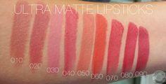 Swatches der Lippenrodukte von Trend it up + Review Ultra Matte Lipsticks   Living the Beauty