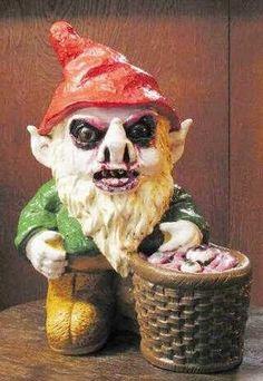 Creepy Garden Gnome