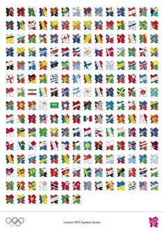 Who likes single digits? Just 9 days to go to #London2012! Here's a shout out to the participating teams