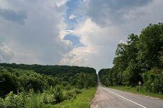 The road through the Black Forest (present days...) ~ Ukraine