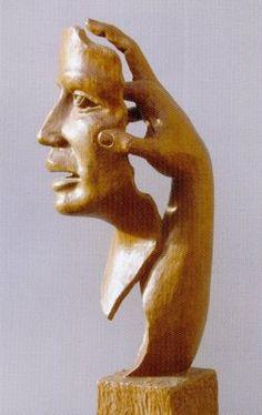 El mito de la taberna: Artistas Castellanos (I): Humberto Abad, madera de artista, artista de la madera