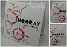 Hexagon Hive Thinlits die fun