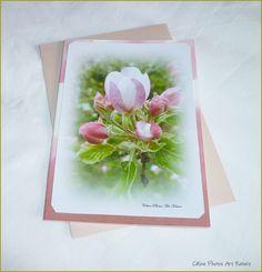 """Carte double réalisée à partir de photos de fleurs de Céline Photos """"Eclosion du printemps"""" : Cartes par celinephotosartnature"""