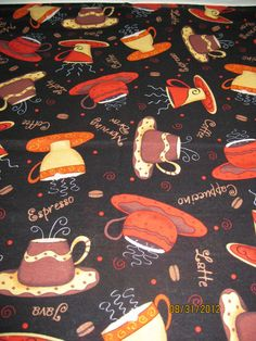 Single Standard Size Pillow Case OOAK Coffee by DittoDitterline, $12.00