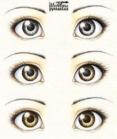 Learn How To Draw Eyes by Thalia 🎀 - Musely Cartoon Eyes, Cartoon Drawings, Doll Face Paint, Eye Sketch, Eye Painting, Doll Eyes, Doll Repaint, Anime Eyes, Drawing Techniques