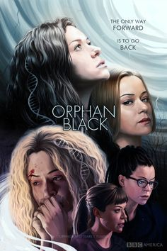 Orphan Black fanart poster contest - by cryingmanlytears on tumblr