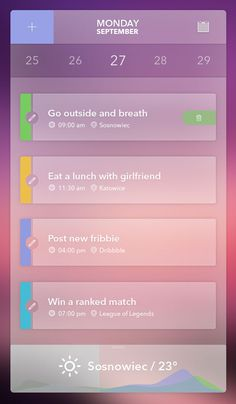 Free Download: Simple Agenda with Transparancy (PSD) by Patryk Adas via OmahPSD.com