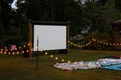 haleyv6: A 3rd and 5th birthday!!! OUTDOOR MOVIE!!!