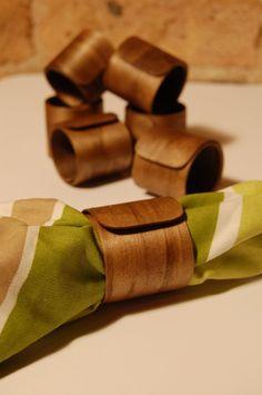 Wood Napkin Ring - Wrap