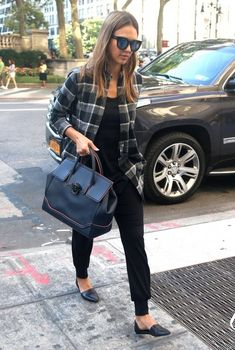 Jessica Alba Out And About In NYC