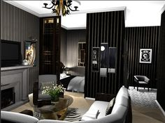 Art Deco Interior Design Living Room | Design Terminology – part 1 — Heart Home