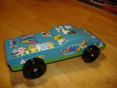 AG likes this Webkins AWANA derby car