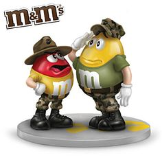 Marines,but cute nonetheless Once A Marine, Marine Mom, Marine Corps, Military Mom, Army Mom, Army Sister, Army Life, M&m Characters, M M Candy