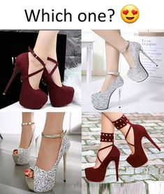 Stiletto Heels, High Heels, Passion For Fashion, Cute Outfits, Fashion Looks, Platform, Stylish, Boots, Pretty