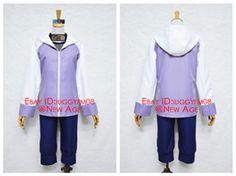 Naruto Hyuga Hinata Cosplay Costume Outfit Vest Jacket Shorts Headband Bag