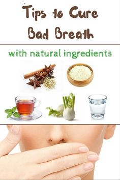 Natural Way to Fight Bad Breath at Home