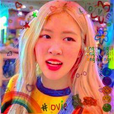 Icons Girls, Cute Rose, Blackpink Video, Aesthetic Indie, My Little Baby, Indie Kids, Blackpink Jennie, Cute Icons, Kpop Girls