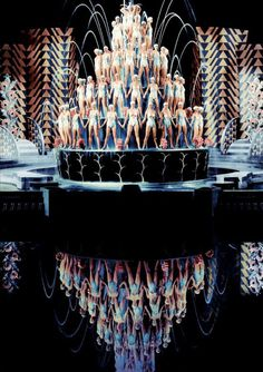 Oh Busby Berkeley such beautiful patterns made me with pretty ladies.