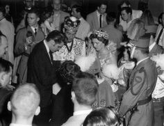 "15 May 1956. Memphis. Ellis Auditorium.  The annual Carnival Cotton (Cotton Carnival). Elvis performed in Memphis so many times that the labeling of any of them ""homecoming"""