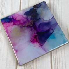 Abstract Artwork Alcohol Ink Painting Wall Art Home