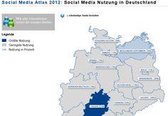 #SocialMedia Atlas #Deutschland - #Hessen ist am Aktivsten via @ethority Social Media Intelligence