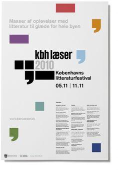 Rasmus Koch Studio : København Læser 2010 – Litterature Festival