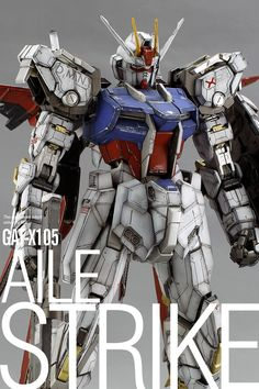 GUNDAM GUY: PG 1/60 GAT-X105 Aile Strike Gundam - Painted Build