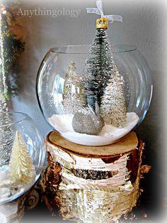 Anythingology: Christmas terrarium
