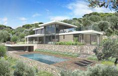 Cabinet d'architecte Cannes - MOUGINS VILLA CHAI