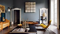 blue heaven and true beauty / Dimore Studio Milano Italy / on home and delicious blog...