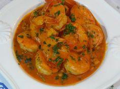 Camarao Mocambique | Portuguese Shrimp Mozambique 2 pounds of medium size shrimp…