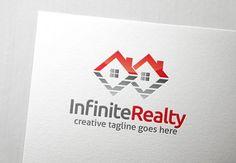 Infinite Realty Logo by Slim Studio on @creativemarket