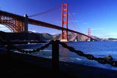 Golden Gate Bridge from Fort Point.